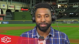 Jackie Bradley Jr. talks with Neil Everett about the Red Sox Game 4 win | SportsCenter