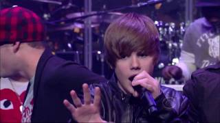 Justin Bieber - Baby HD 1080p  Live on (David Letterman)