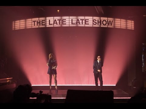 Linkin Park ft Kiiara live at The Late Late Show performing Heavy