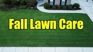 Fall Lawn Care Information