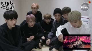 [ENG] 161012 BOMB: 'Blood Sweat & Tears' MV Reaction by BTS