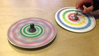 Is a traditional Japanese toy, spinning top