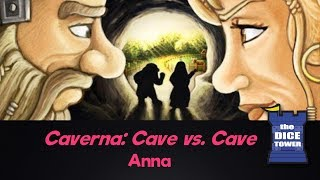 Caverna: Cave vs. Cave Review - with Anna