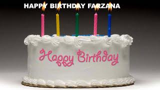 Farzana  Cakes Pasteles - Happy Birthday