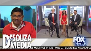 Fox & Friends: Dinesh D'Souza Responds To