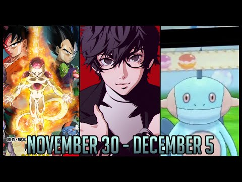 Suti~Tit Presents: Otaku Weekly News | November 30 - December 6 | Persona 5, DBZ 2015, Lizard Squad