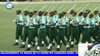 Kwata la kimyakimya la Wanajeshi wa Tanzania Uhuru Day 2016