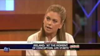 Kathy Ireland on Abortion