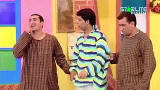 Zafri Khan and Nasir Chinyoti New Pakistani Stage Drama Full Comedy Funny Clip