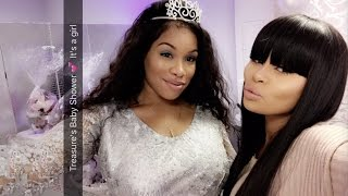 Blac Chyna Throws Baby Shower For Her Best Friend   FULL VIDEO