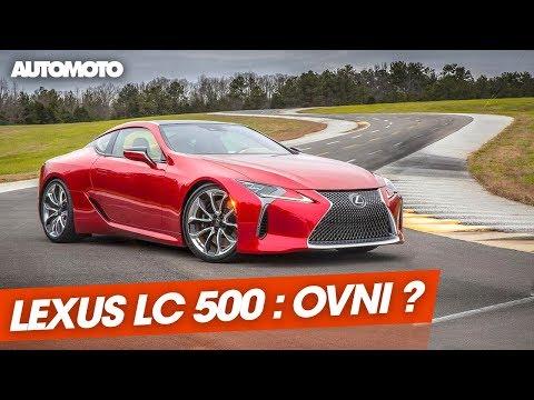 Essai Lexus LC 500 sportive GT ou OVNI