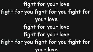 Claude Kelly - Fight for your Love (NoShout, Lyrics on Screen)