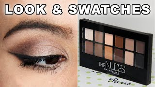 Maybelline The Nudes Palette First Impressions | Alexa Likes