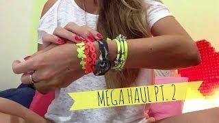 Mega haul pt.2 - La vendetta (zara, h&m, kiko, layla, hiphop...)