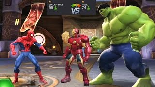 Spider-man VS Hulk | Spider-man VS Iron Man Superhero Games Marvel #2