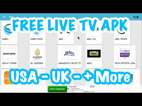 NEW FREE APK FOR LIVE TV IN THE USA, UK & MORE! TV ONLINE PLUS +! JULY 2017