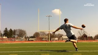 American Football Trick Shots - People Are Awesome 2018