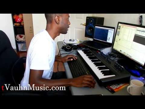 tVauhnMusic - 5 Min Beat Making Challenge