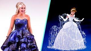 Cinderella Inspired Dress for Ashley Eckstein | Disney Style