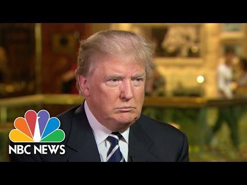 Donald Trump I Will Win The Latino Vote Full Interview NBC News