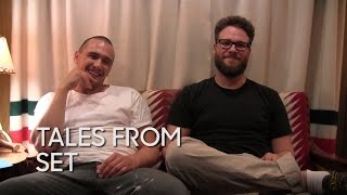 Tales from Set: James Franco and Seth Rogen on