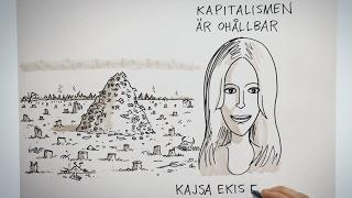 Kapitalismen är ohållbar - Kajsa Ekis Ekman   Idévärlden i SVT