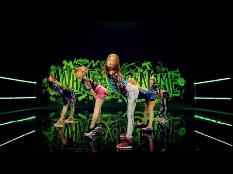 4MINUTE 이름이 뭐예요 What s Your Name Official Music Video