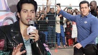 Agar Salman Ke Baad Koi Hai To Woh Varun Dhawan Hai | Varun Dhawan Reaction