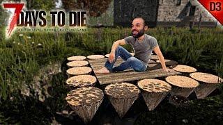 7 DAYS TO DIE #D3 | ESTRUCTURA LISIA ZOMBIES | Gameplay Español