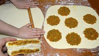 فطائر البطبوط بطريقة سهلة لاختصار الوقت والمجهود وحشوة رخيصة ولذيذة رااائعين
