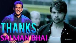Himesh Reshmmiya thanks to salman khan || Latest Bollywood News 2016 || News Adda