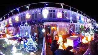 360 video of Byron Road's light's switch on