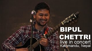 Bipul Chettri live in Kathmandu