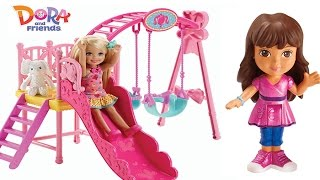 Dora the Explorer, Dora and Friends Into the City Has a New Play-Doh Dress and Plays in the Park