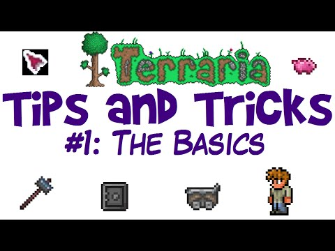 Terraria Tips and Tricks for Beginners! (Life Hacks, 1.3 PC Guide/Tutorial)