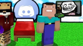 DISCORD TROLLING MINECRAFT HYPIXEL BEDWARS PLAYERS!