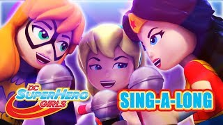 LEGO Brain Drain | Get Your Cape On | Sing-A-Long | DC Super Hero Girls