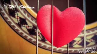 Je Hote Mala !!Romantic Marathi Song!!