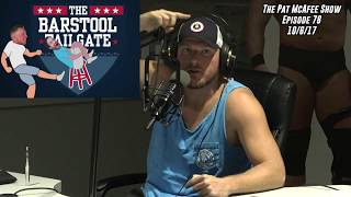 The Pat McAfee Show Simulcast Ep. 78- Virginia Tech Recap 10-6-17