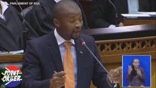 UDM chaos in parliament need a solution ANC and EFF stop fighting
