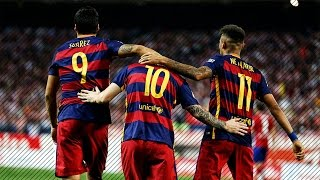 FC Barcelona - Top 10 Goals in La Liga 2015-2016 | HD