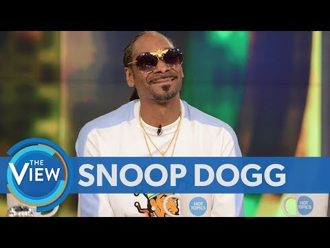 Snoop Dogg Weighs In On Kanye's Controversial Comments, Friendship With Martha Stewart | The View