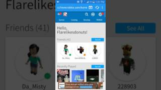 FREE robux!! (ACTUALLY WORKS) ANDROID
