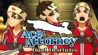 [Ace Attorney: Dual Destinies] Robin Newman's Secret - Dubbed