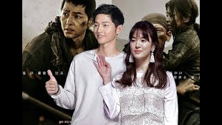 Song Joong Ki Greeting Stage Battleship Island VIP Premiere 170720