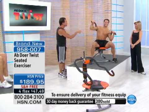 Ab Doer Twist Seated Exerciser System