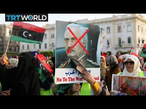 Xxx Mp4 Libya On The Brink Protesters Condemn Trump 39 S Call To Haftar 3gp Sex