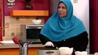 20 01 2013 خانم ميترا اشرفي شيرين پلو