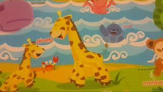 Unigo Oyun Halısı (Matı) | Bebek Odası için Dekorasyon Fikri | Konuşan Anne