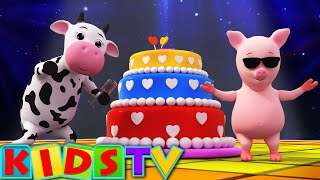 Happy Birthday Song | Birthday Song for Kids and Children's | Kids TV